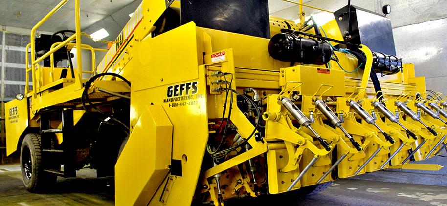 image of GEFFS BM 624 Used Chip Spreader for Sale