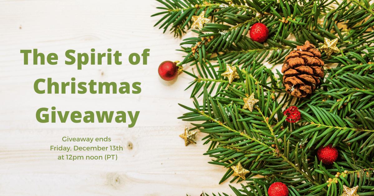 Spirit of Christmas Giveaway