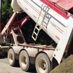 Western Turf Farms End Dump Truck