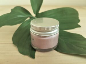 pink clay exfoliant