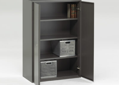 Enwork_Apex_Double_Door_Cabinet_4-high_Open