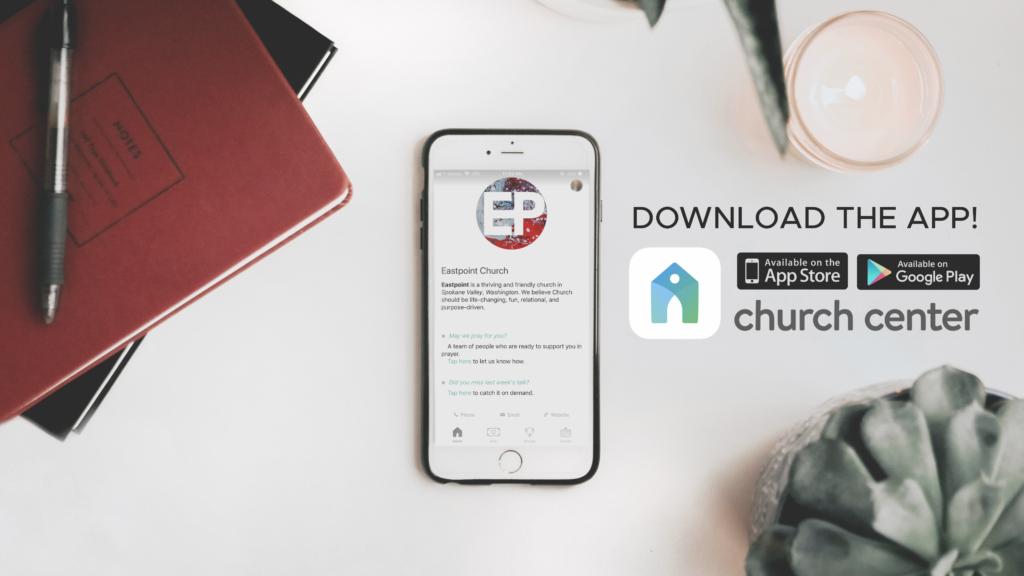 Church Center App Slide