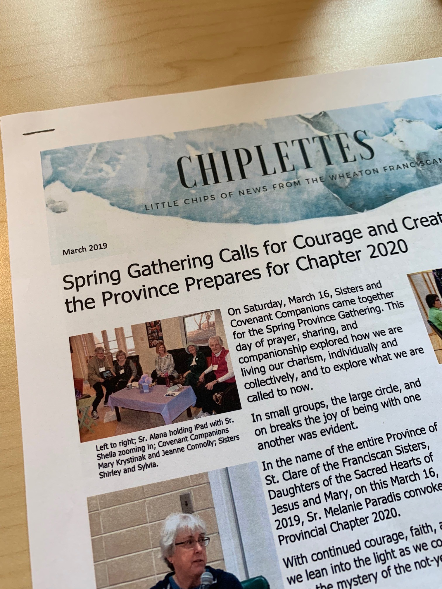 March edition of Chiplettes