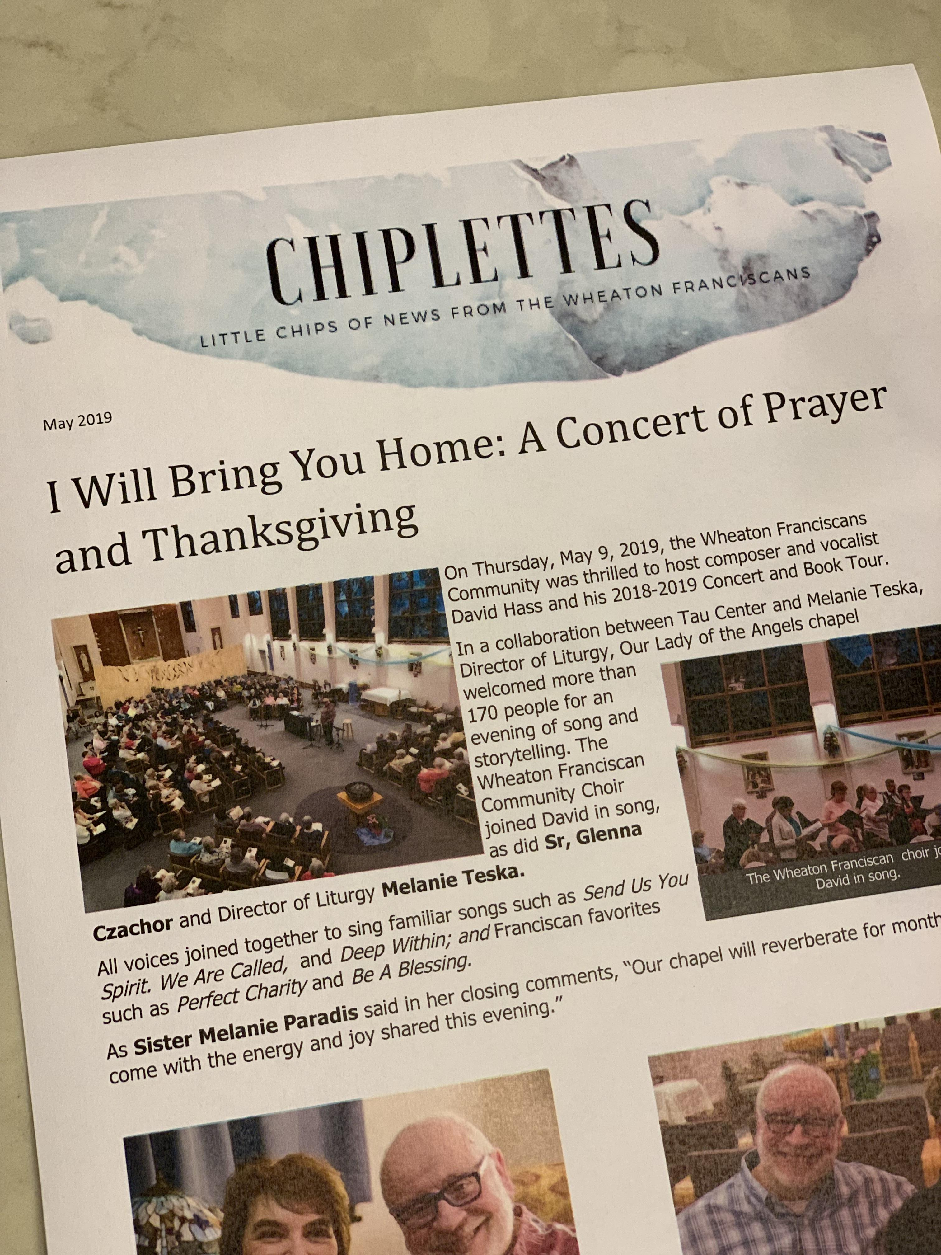 May edition of Chiplettes