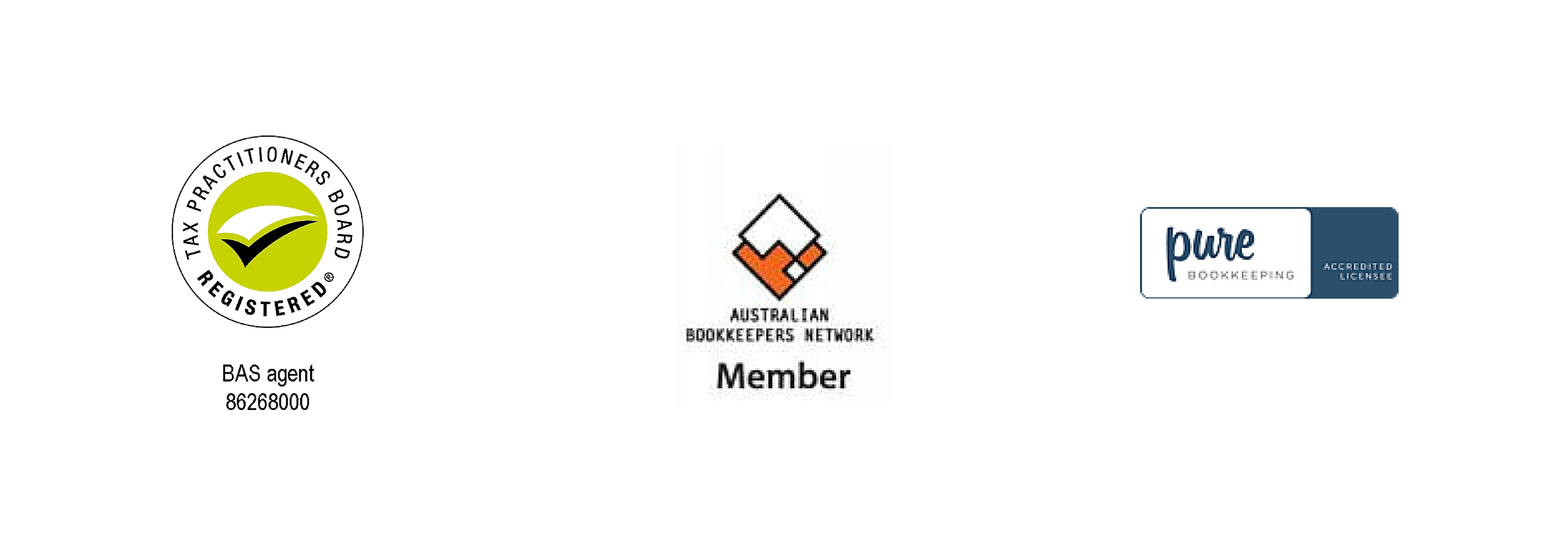 BAS agent licence, ABN member, Pure bookkeeping