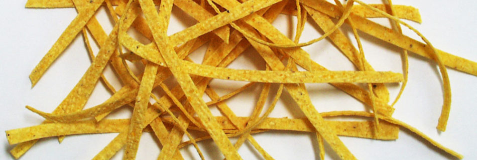 Slicing Tortilla Strips