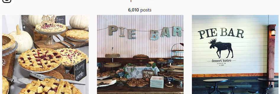 Belly Up To The Pie Bar