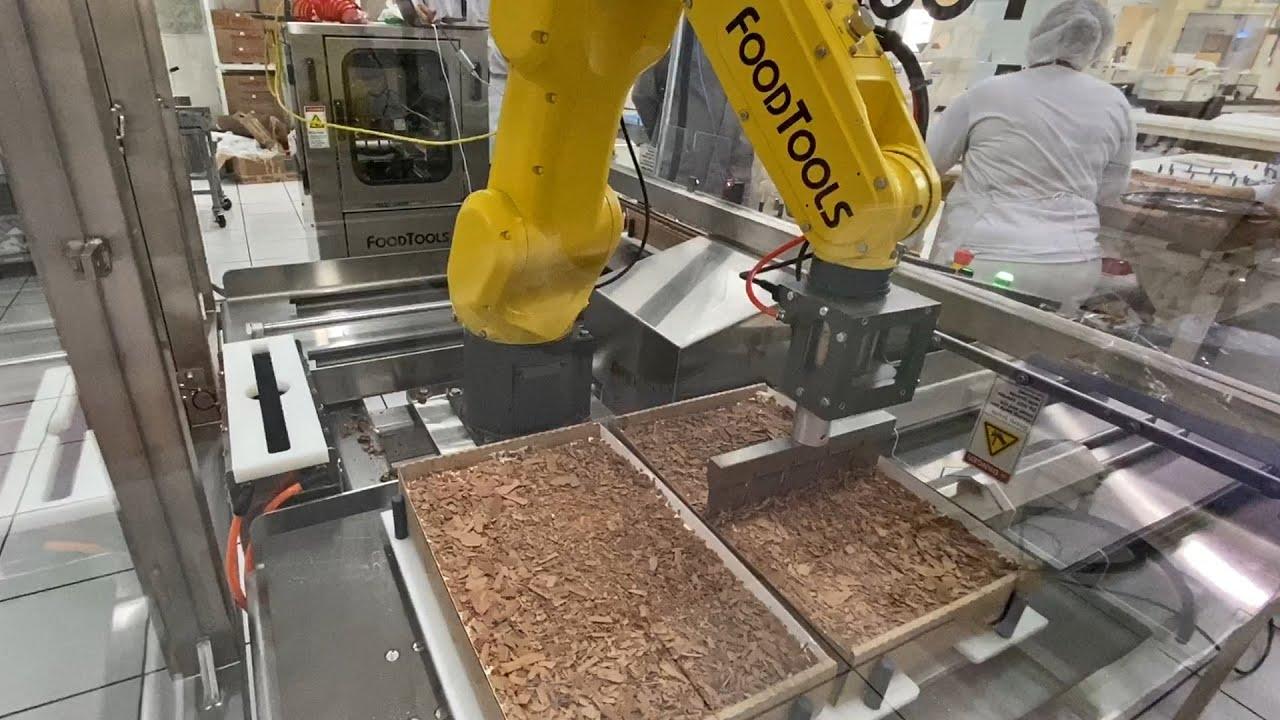 Robotic Cake Cutting Machine - FoodTools