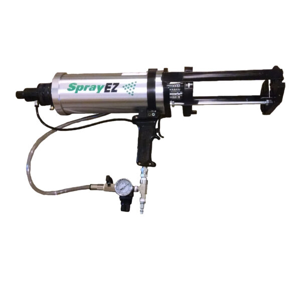 SprayEZ Cartridge Gun is sold for both commercial and DIY uses. The creator of The SprayEZ Cartridge Gun (aka Fastkick gun) is DIY Foam Supply's Parent company, SprayEZ Equipment and Coatings. SprayEZ Cartridge Gun- It's What The Pros Use