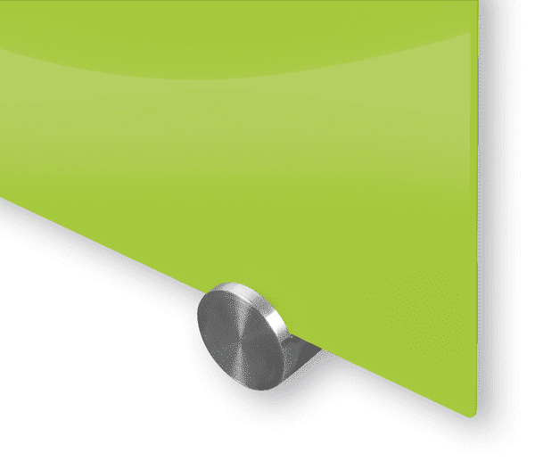 Glass Magnetic Dry Erase Whiteboard - green