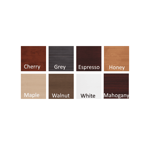 8 Color Laminate Finishes