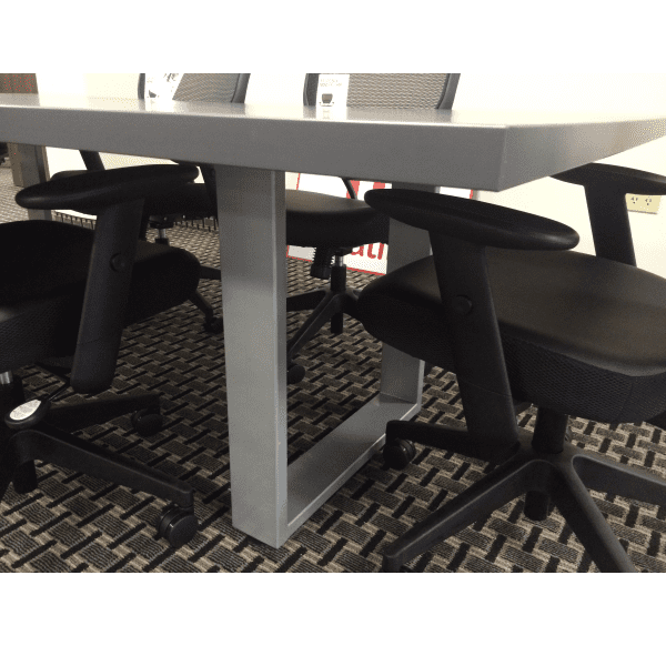 Connect iT Edge Band Conference Table - Burnt Strand