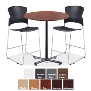 PL Round Cafe Height Table