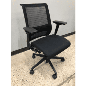 Steelcase Think Chair with Mesh Back + Silver Bars - Main