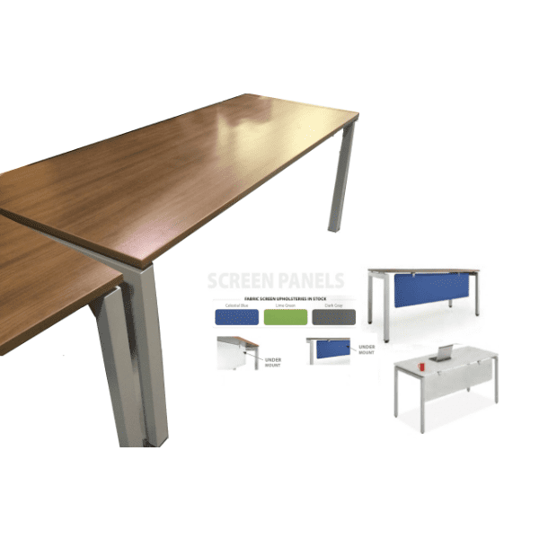 elements with modesty screens trainingtables