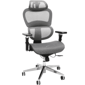 Ergonomic Mesh Chair - Grey Silver