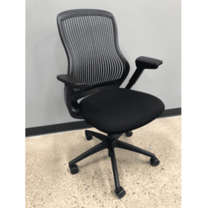 used Like New Knoll Regenreation Chair - All Black - Main
