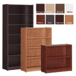 Laminate Bookcases - 8 Great Colors