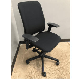 Used Steelcase Amia Chair - Recovered Fabric