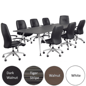 8 Feet Luna Table - 4 Colors - Seats