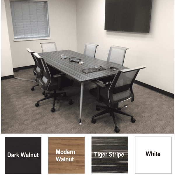Luna 8' Conference Table