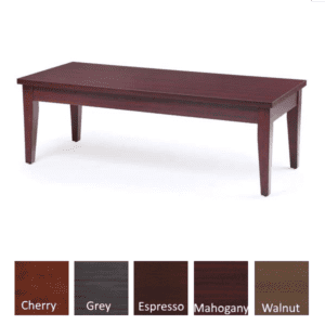Performance Laminate Coffee Table - Mahogany - Available in 5 Colors