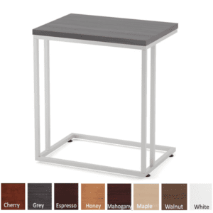 Side C Table with Laminate Top - Coastal Gray - 8 Colors Available