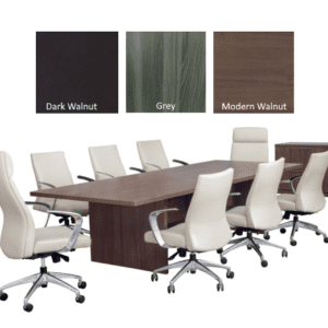 Status 10 Foot Conference Table - Seats