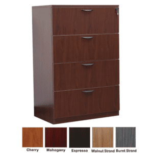 Ultra 4-Drawer Lateral File Cabinet - Anderson Worth