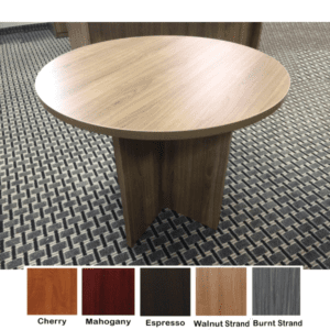 Ultra Round Table in Walnut Strand - 5 Finishes
