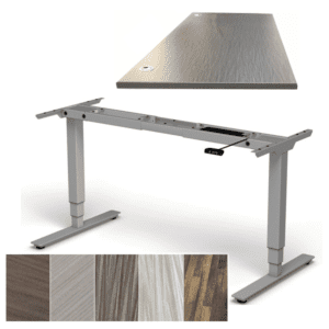 Designer Adjustable Height Electrical Table