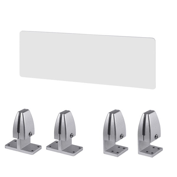 PLTAP 36 Inch x 15 Inch High Clear Acrylic Privacy Screen Divider