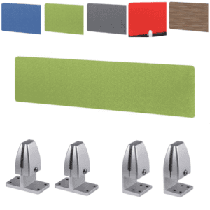 Lime Green Privacy Screen Divider with Choice of Hardware