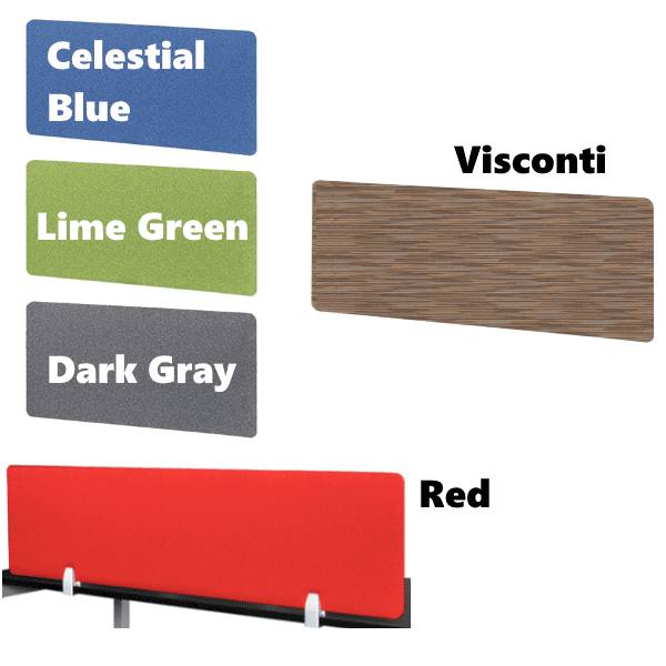 Fabric Screens - 5 Colors