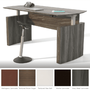 6' Contemporary Height Adjustable Desk