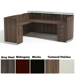 Medina L-Shaped Reception Desk - Interior