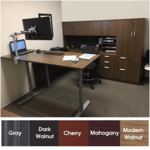 Express EXP Height Adjustable Standing Desk