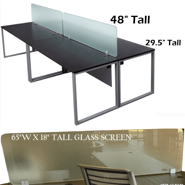 Express Lair 2x2 Shared Workstations