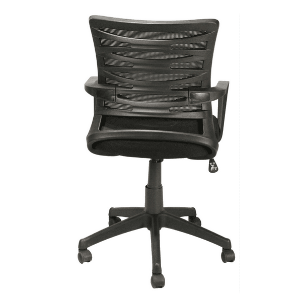 KB-2022BLACK Mesh Back Task Chair - Rear View