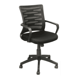 KB-2022 BLACK Mesh Back Task Chair