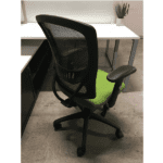 KB-8920-Grade B Fabric Seat - Rear View