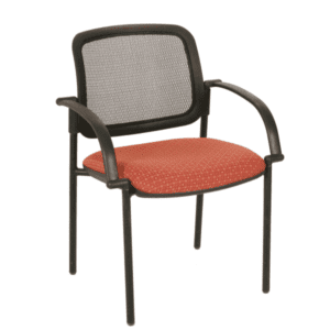 SX-4067 Black Mesh Back Guest Chair