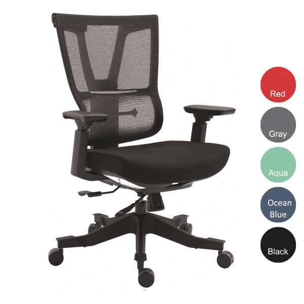 Mesh Executive Task Chair - Black