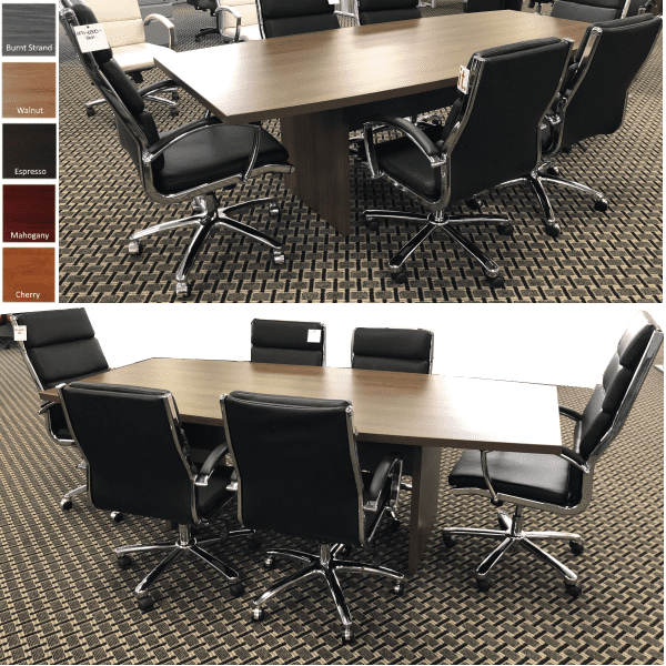Ultra 8 Feet Conference Table - Boat Shape
