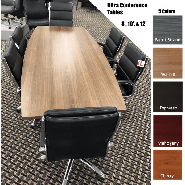 Ultra Boat Shape Conference Tables