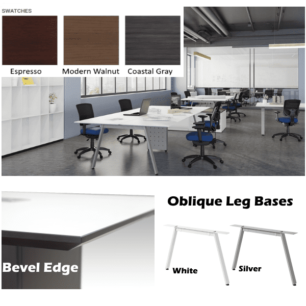 Bevel Edge Collaborative Workstation