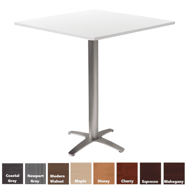 PL Contemporary Round Cafe Height Table
