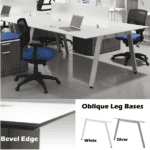 Performance Laminate Bevel Edge Worksurface Benching Set