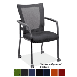 Mobile Mesh Back Training Room Chair