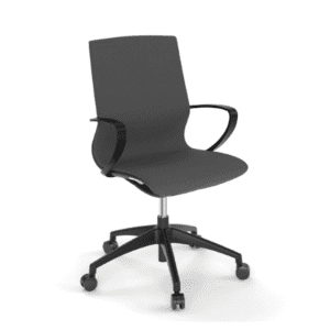 20621 All Mesh Task Chair - Gray Mesh with Black Frame